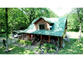 AUCTION: 3 BR, 2.5 BA Log Home on 85+/- Acres with Large Pastures - Hardwood Trees - 2 Extra Soil Sites - 2 Barns - Storage Shed - Pool and More! featured photo 3