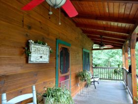 AUCTION: 3 BR, 2.5 BA Log Home on 85+/- Acres with Large Pastures - Hardwood Trees - 2 Extra Soil Sites - 2 Barns - Storage Shed - Pool and More! featured photo 11