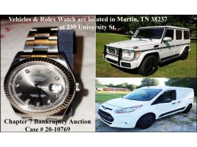 BANKRUPTCY ONLINE AUCTION - VEHICLES & WATCH featured photo 1