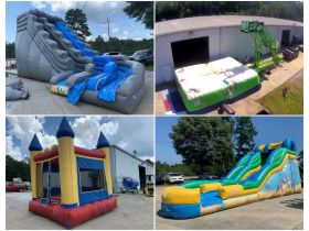 Bank Ordered Business Liquidations - Logging Equipment, Electrical Supply Business & Party Rental Jumpy Houses featured photo 2