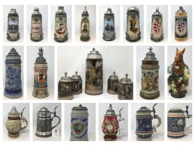 The John H. Beyke Estate Beer Stein Collection featured photo 1