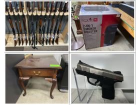 Multiple Estate Auction - Firearms, Knives, Artwork, Furniture and More! featured photo 1