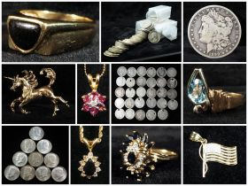 Silver Coin And Certified Fine Jewelry Auction featured photo 1
