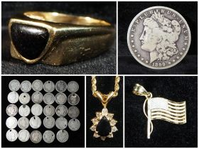 Silver Coin And Certified Fine Jewelry Auction featured photo 2
