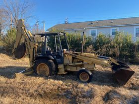 Bankruptcy Auction of a Ford 555 Backhoe featured photo 1