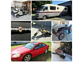 Vehicles, Farm Equipment, Tools, Jewelry & Personal Property at Absolute Online Auction featured photo 1