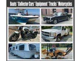 Boats * Collector Cars * Motorcycles * RV's * Equipment * Trucks & More. featured photo 1