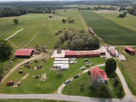 House, Barns and 91 Acres in Tracts - Tractors and Equipment at Absolute Auction featured photo 1
