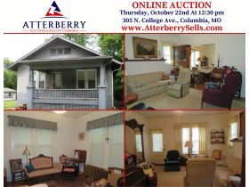 Online Real Estate Auction, Sells To High Bidder With No Minimum or Reserve, 305 N. College Ave., Columbia, MO featured photo 2