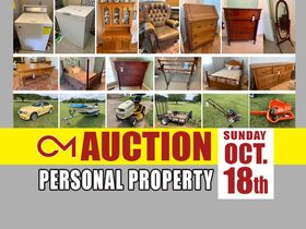 ONLINE AUCTION: 2005 Crossfire Convertible - Mowers - Tools - Boat - Davis Cabinet Furniture and More! featured photo 1