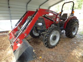 Case IH Farmall  55A 4WD with L530 loader (124 Hou