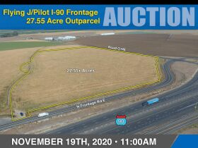 Flying J/Pilot I-90 Frontage Outparcel-27.55 Acres-Zoned Rural Freeway Commercial featured photo 1