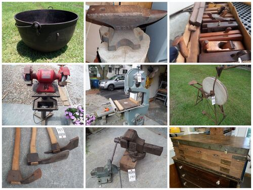 Gigantic Tool & Shop Equipment Auction - Estate of the Late Steve Griffith featured photo