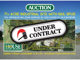 71 ± Acres Industrial Site With Rail Spur | Good Access to I-64 & Richmond, VA featured photo 1