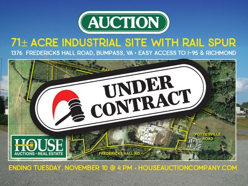 71 ± Acres Industrial Site With Rail Spur | Good Access to I-64 & Richmond, VA featured photo