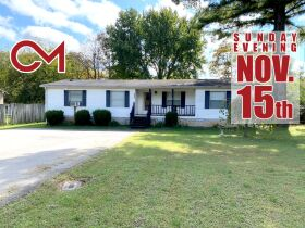 ONLINE ONLY AUCTION: 3 BR, 2 BA Home with Updated Kitchen and Storage Building featured photo 1
