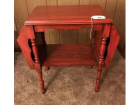 Double Pocket End Table