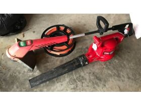 Toro Electric Leaf Blower and Trimmer