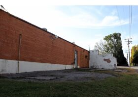 back of old Cass County jail building