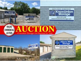 4 Location Multi Property Storage Unit Business Commercial Online Auction featured photo 1