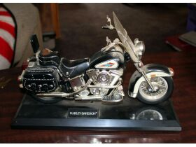model of a Harley Davidson motorcycle
