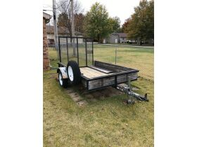Carry On 5'x8' Single Axel Trailer