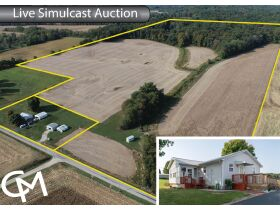 Gibson County Land & Home Auction | Francisco, Ind