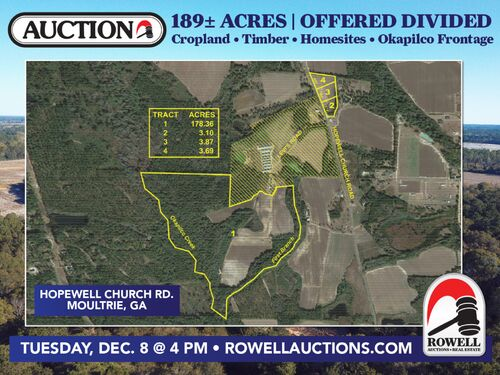 189 ± Acres | Excellent Ag and Timber Tract | Beautiful Homesites featured photo