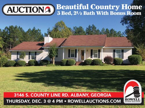 Beautiful Country Home | 3 Bed, 2½ Bath With Bonus Room featured photo