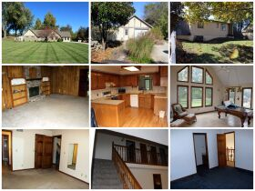 montage of family home in Stilwell, KS