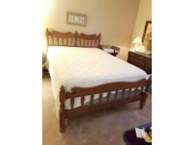 Tell City Youth Republic Full Size Bed with Headbo
