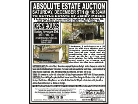 Absolute Estate Auction - Saturday, December 5th @ 10:30 AM featured photo 3