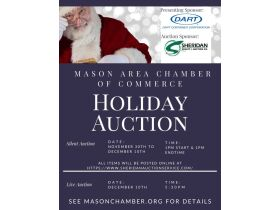 Mason Chamber of Commerce Holiday Auction featured photo 1