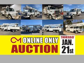 ONLINE ONLY EQUIPMENT AUCTION featuring Surplus of Heavy Equipment from Middle Tennessee Electric featured photo 1