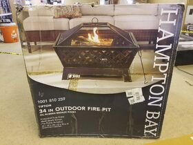 HOME DEPOT TRUCKLOAD OF MERCHANDISE ~ Ceiling Fans & Lights, Fire Pits, End of Season, Home Decor -- 354 LOTS!!! featured photo 2