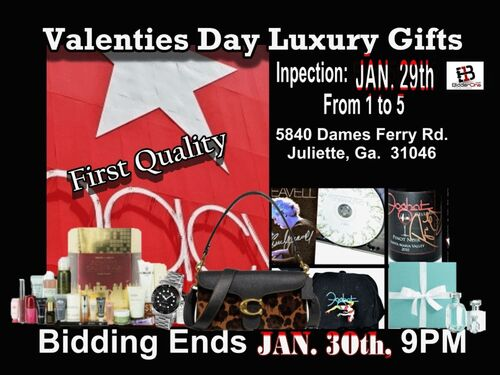 Luxury Valentines Gifts, Finer Jewelry, Watches & Autographed Collectibles featured photo