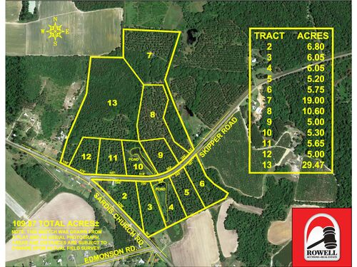 109 ± Acres | Excellent Recreational Tract | Beautiful Homesites featured photo