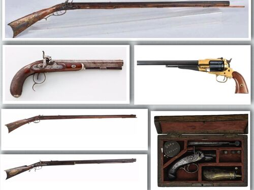 """Robert """"Rusty"""" White Estate Auction- Firearms, Swords, Mounts & Weapons featured photo"""