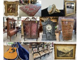 """Robert """"Rusty"""" White Estate Auction - Antique Furniture, Collectibles, Rugs, Art, & Jewelry featured photo 1"""