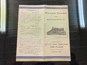 Jim Erdle Early Tractor Literature Auction featured photo 1