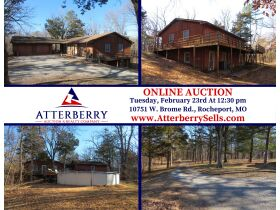 Home & 20+/- Private Wooded Acres Sells To High Bidder, Rocheport, MO featured photo 2