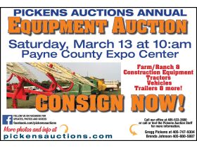 PICKENS AUCTIONS ANNUAL EQUIPMENT AUCTION featured photo 1