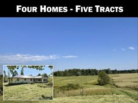 Harrison Co Multiple Homes & Land Absolute Online Only Auction featured photo 1