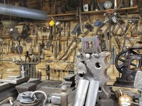 Fisher Antique Tractor, Car & Construction Equipment, Blacksmithing Tools & Car Parts Collection featured photo 7