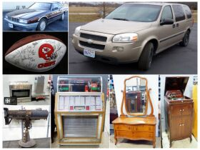 montage of automobiles and furniture