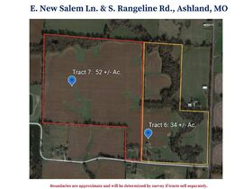 Tract 6 & 7, E. New Salem Ln., Ashland, MO
