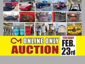ONLINE AUCTION: Maney Avenue Service Station Liquidation! Classic Cars - Wrecker - Trucks - Tools and More! featured photo 1