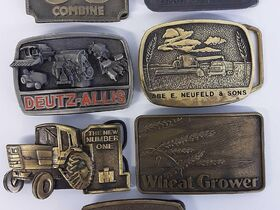 DOWNSIZING & MOVING AUCTION: LEATHER FURNITURE   NFR & COLLECTIBLE BELT BUCKLES   HOME DECOR   LAWNMOWER featured photo 10