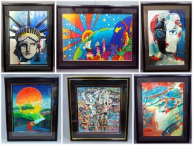 "Peter Max ""Liberty"", Peter Max ""The Beauty"", Peter"