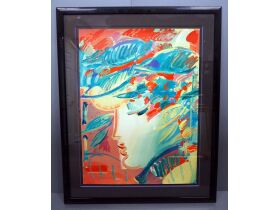 "Peter Max ""The Fauve"" painting"